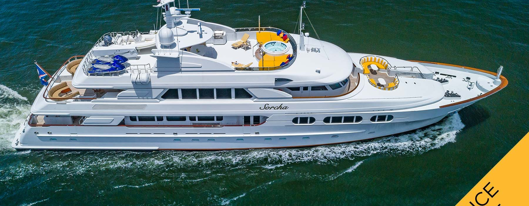 Super Yacht for Sale-Sorcha Northern Marine-46m 2005 Price Reduced