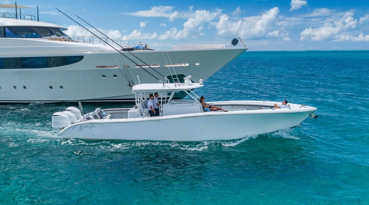 Yelowfin 42 BELL HOP center console for sale