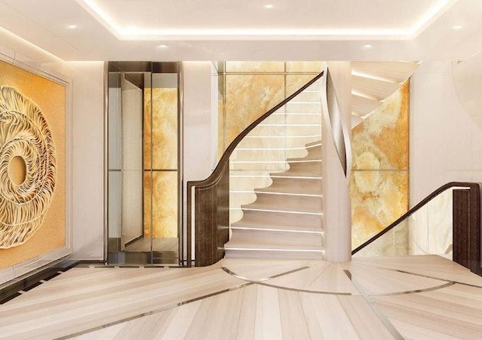 AMELS 242 Foyer - Moran Yacht & Ship