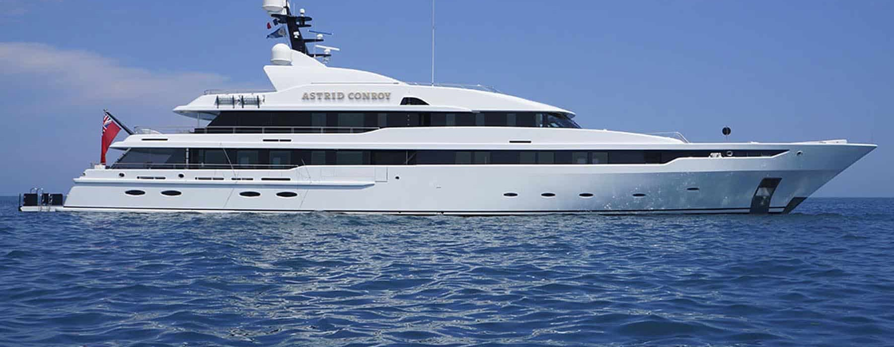 Astrid Conroy perfect Yacht, 2 million price reduction