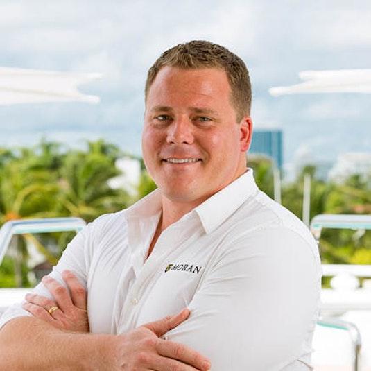 Fleet Manager Kevin Morgan - Moran Yachts
