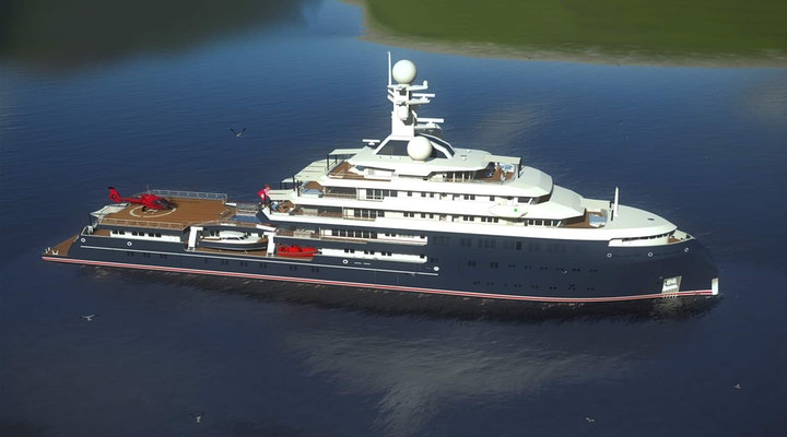 Lurssen ICECAP Under Construction