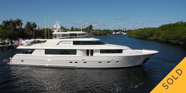 kaleen 112 westport yacht sold