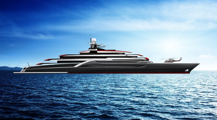Lurssen Project TESTAROSSA Profile