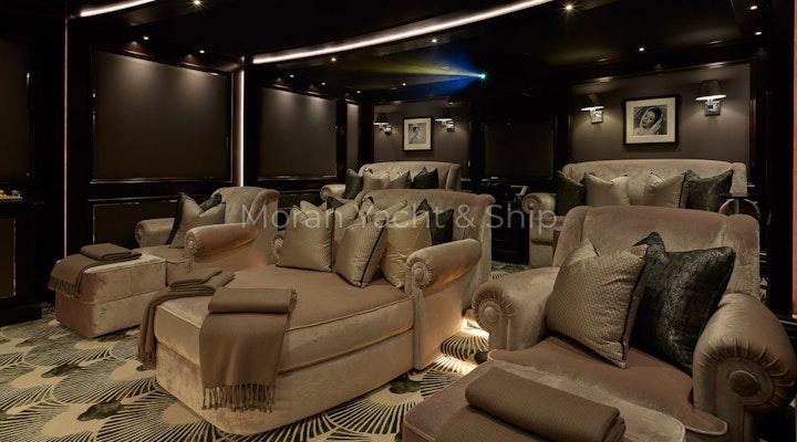Completed Lurssen TIS Cinema