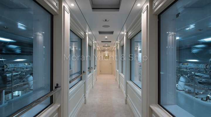 Completed Lurssen TIS Engine Room Walkway