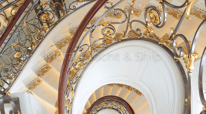 Completed Lurssen TIS Grand Stairs