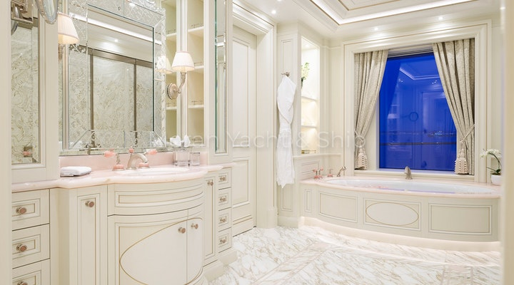 Completed Lurssen TIS Owners Master Bathroom