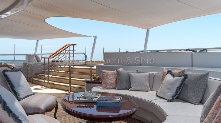 Completed Lurssen TIS Owners Deck Seating