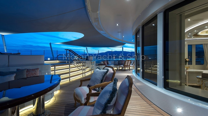 Completed Lurssen TIS Owners Deck Night 3