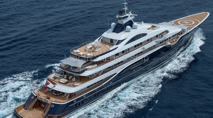 Completed Lurssen TIS Profile Angle