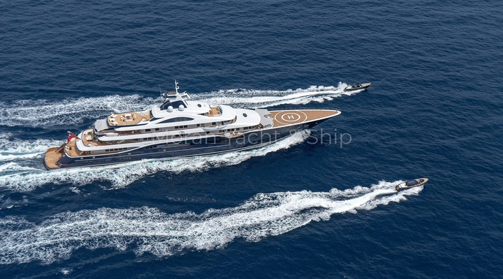Completed Lurssen TIS Toys