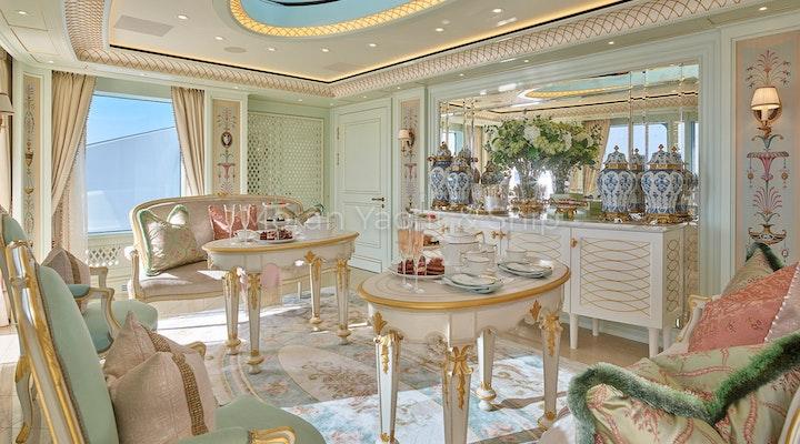 Completed Lurssen TIS Tea Room