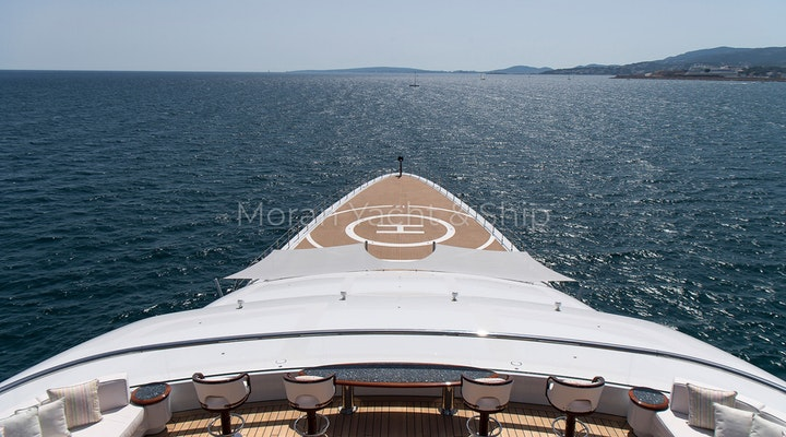 Completed Lurssen TIS Bow