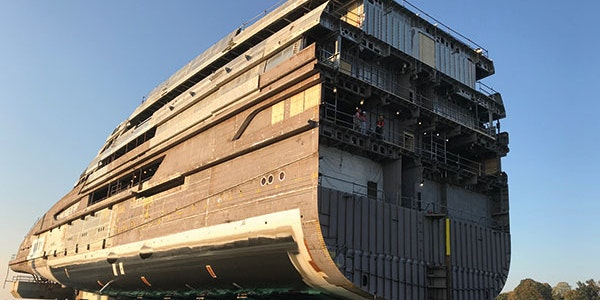 More Yachts Under Construction - Moran