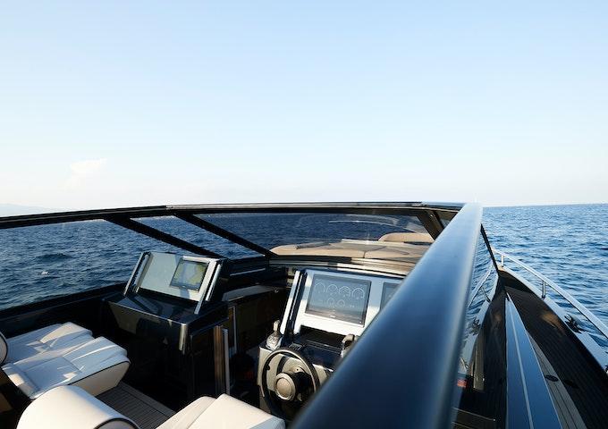 Steeler Yachts Bronson 50 Cockpit