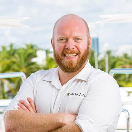 Yacht Broker Sean Zamora - Moran Yachts